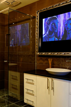 Sheer luxury in your bathroom