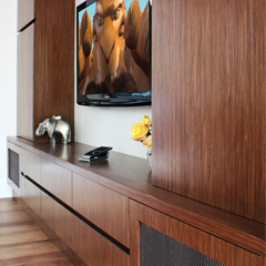 Custom component cabinetry